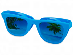 OptiShades Linsenbehälter - blau