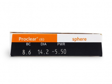 Proclear Sphere (6 Linsen)