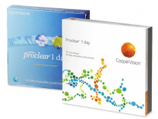 Proclear 1 Day (90Linsen)