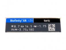 Biofinity XR Toric (3 Linsen)