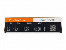 Proclear Multifocal (6 Linsen)